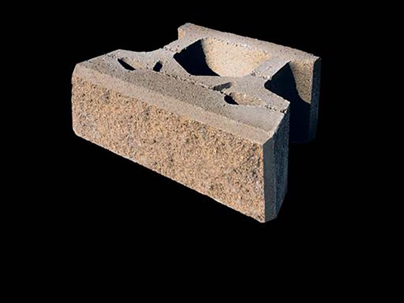 Closeup of Retaining Wall Brick